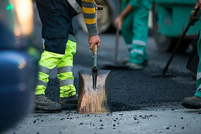 Costruzione della strada