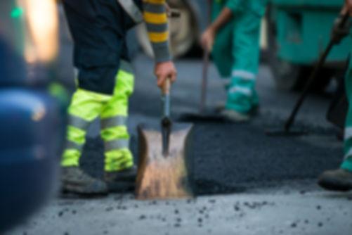 Construção de estrada