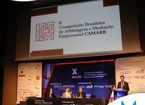 X Competição Brasileira de Arbitragem e Mediação Empresarial da CAMARB