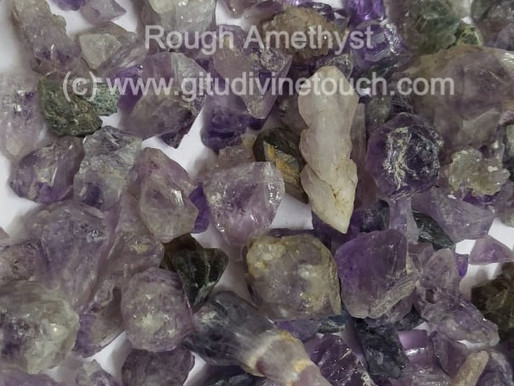 Amethyst: The crystal for chronic headache, migraine and memory loss