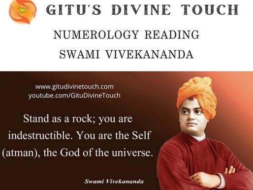 Swami Vivekananda Numerology Analysis
