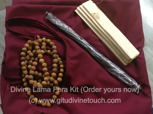 Guidelines for new Lamas to practice Lama Fera correctly and effectively