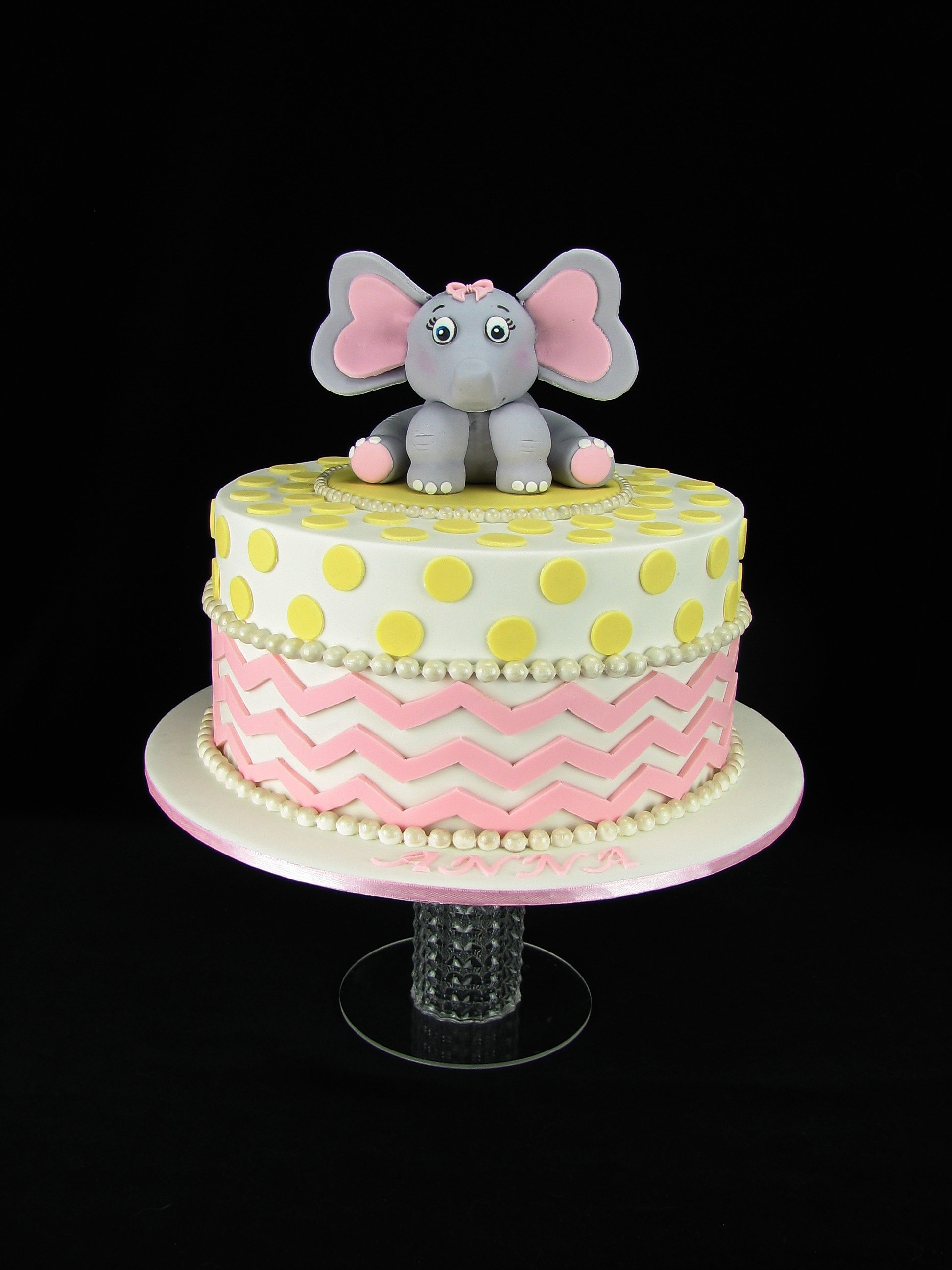 Cake Decorator Geelong Australia Leannes Cakes Geelong Elephant