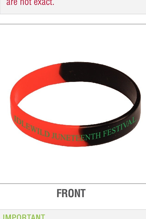 Juneteenth Supporter Wristband