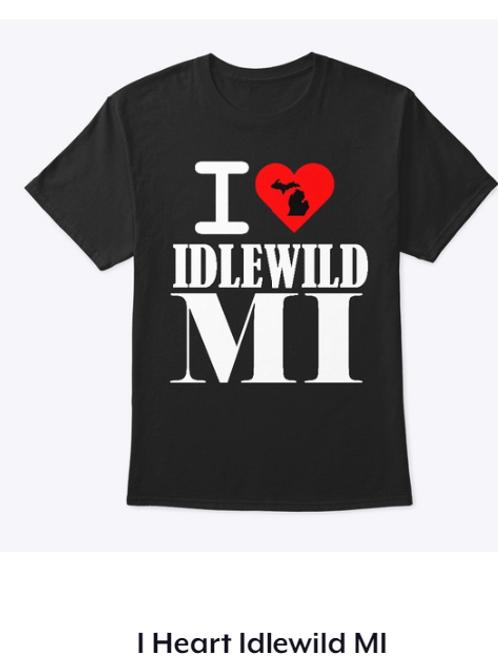 I heart Idlewild T-Shirt