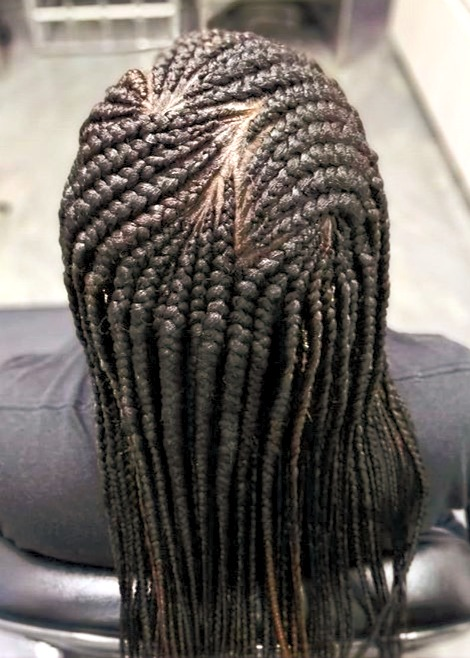 Feed in Cornrows
