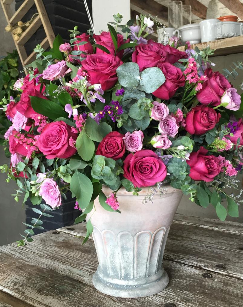 Flores frescas en la Base Ideal!