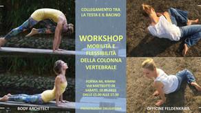 workshop mobilita e flessibilità della colonna vertebrale