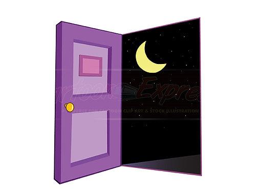 door night