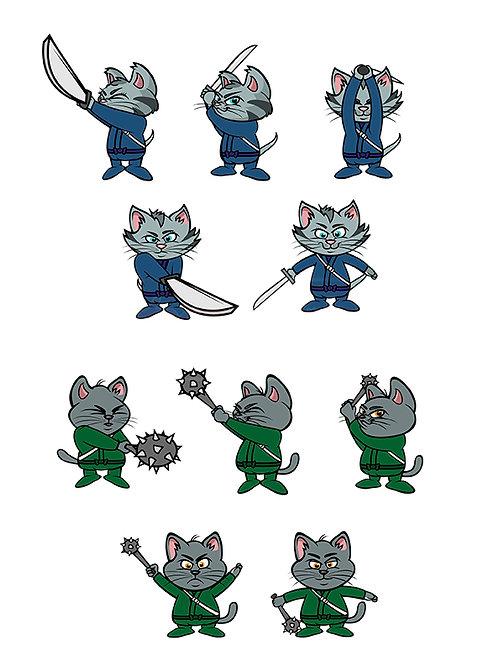 kitten ninjas