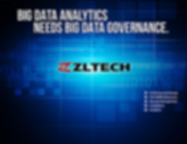 poster for ZL Technologies, data company tradeshow