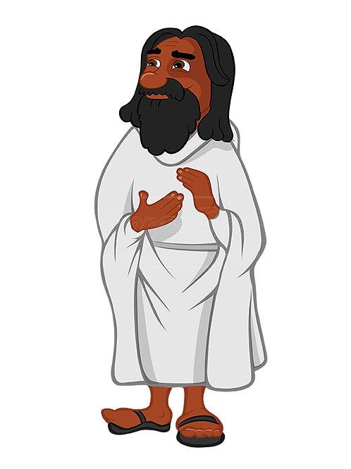 Jesus black