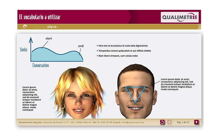 e-learning module for Qualmetrie-learning module for Qualimetrie, Spanish client