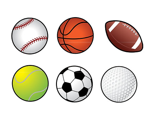 sports balls collection