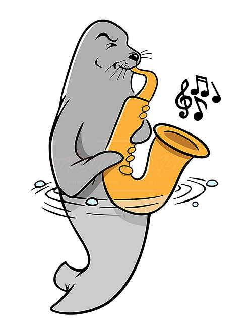 seal saxophonist