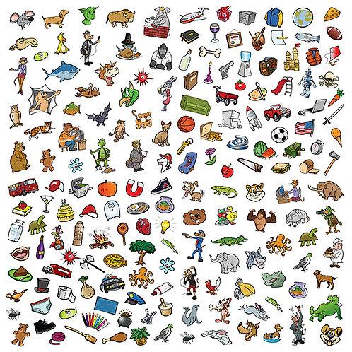 random cartoon MEGA collection