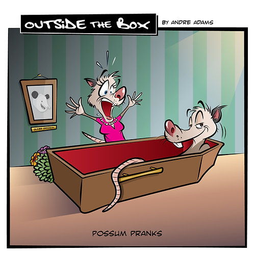 Outside the Box-possom pranks