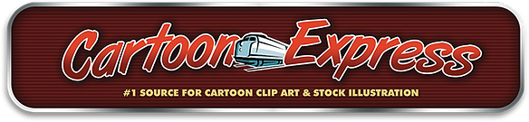 The Cartoon Express website mockup 3-118