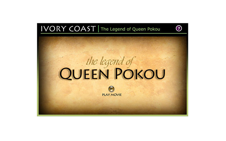 The legend of Queen Pokou - Instructional video for defense contractor