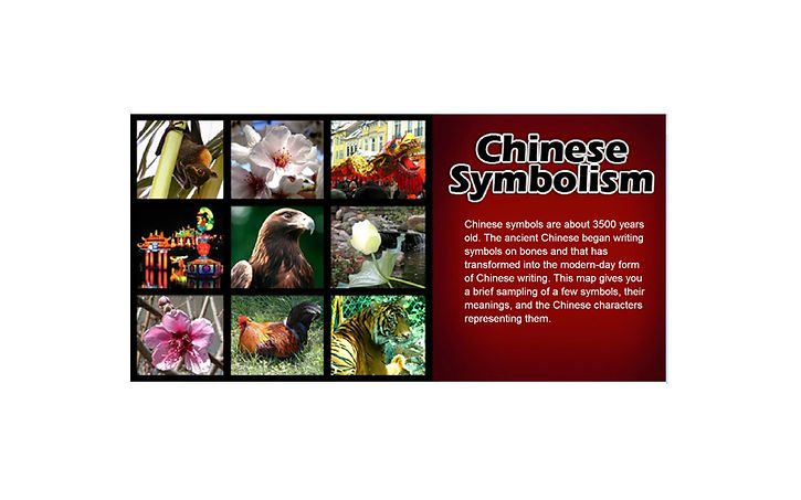 Chinese symbolism  Instructional video for defense contractor