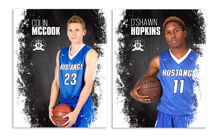 basketball sports cards for Varsity team