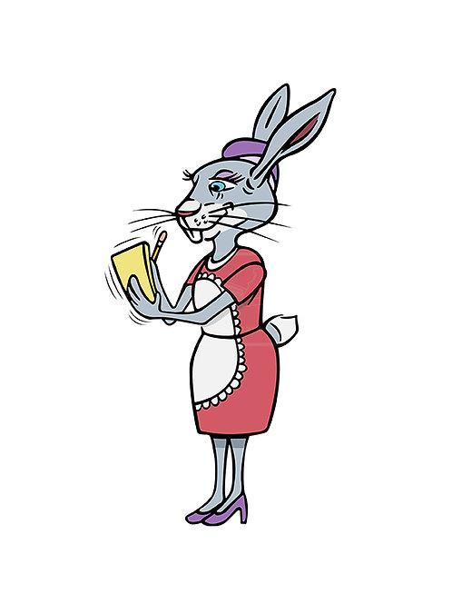 rabbit waitress