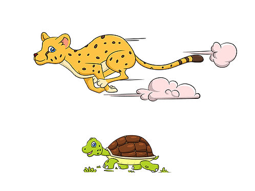 animal fast slow