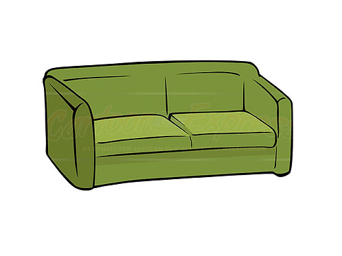 couch green