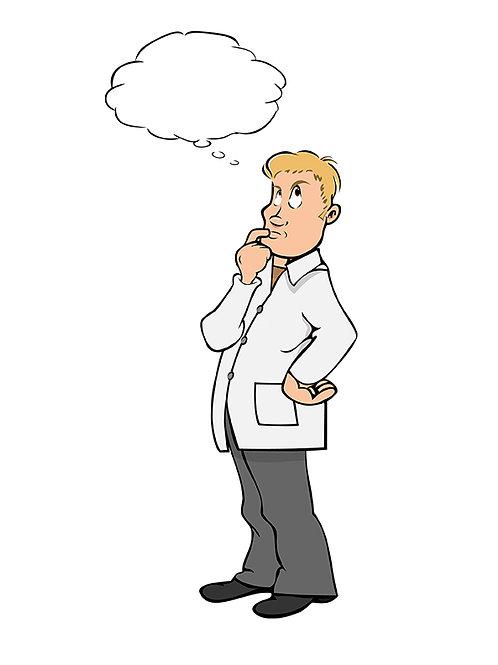 lab coat scientist