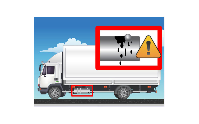 truck warning video for design firm