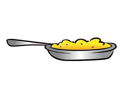 skillet eggs