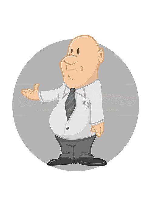 businessman fat