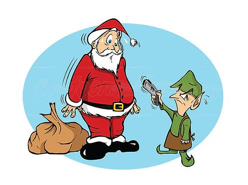 Santa elf Christmas