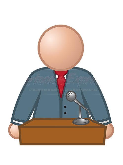 speaker podium 2