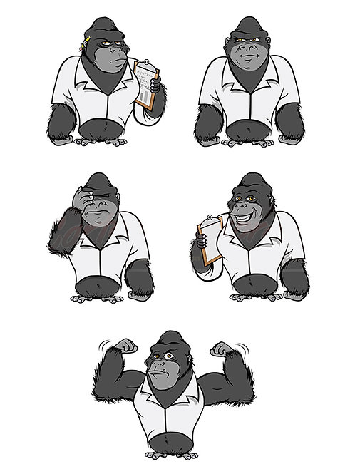 gorilla lab suit collection