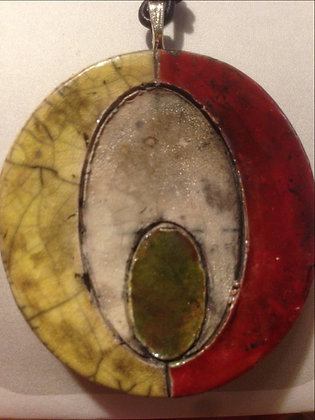 Oval in A Circle
