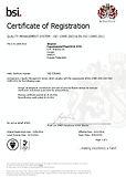 Сертификат ISO 13485 Опытный завод РНЦ ВТО (аппарат илизарова)