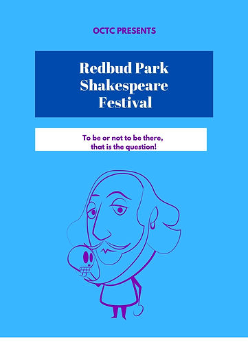 Pink Violet Shakespeare Community Poster
