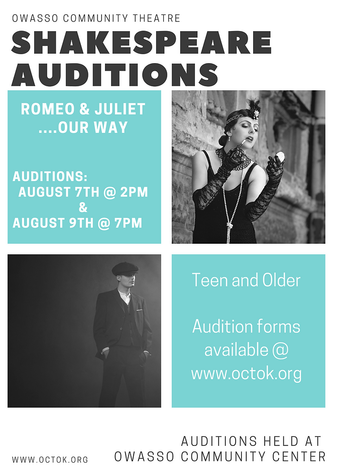 Gray and Teal Auditions Photo Grid Flyer (1).png