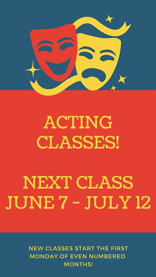 Red and Blue Classes Workshop Your Story