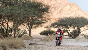 Irrumpiendo en el Dakar 2022 con Red Bull KTM Factory Racing