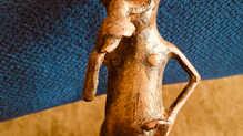 Detail eines Hornes, Afrika