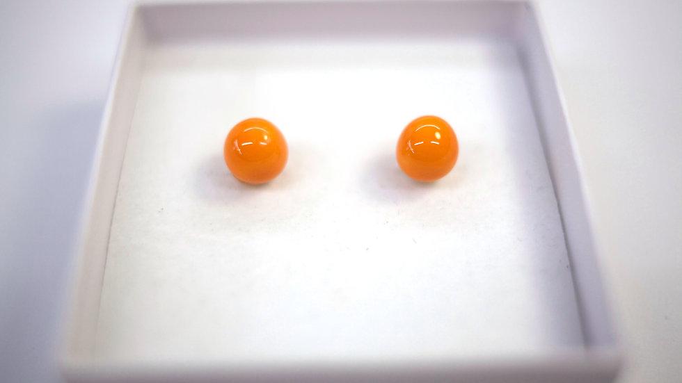 Orecchini a Lobo Arancione