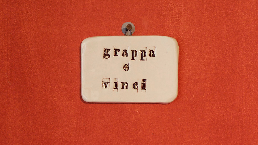 Quadrello Grappa e Vinci