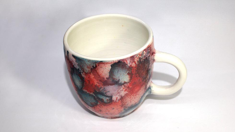 Mug Splash Rosso, Pavone, Viola e Magenta