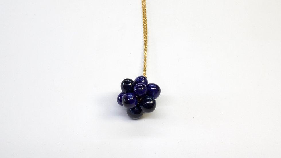 Ciondolo Nuts Blu Galassia e Blu Cobalto