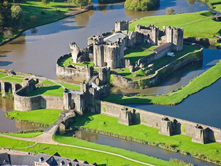 I like a nice castle - Caerphilly
