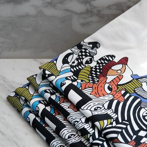 White E.P. T-Shirt - A.Y.N. Artwork