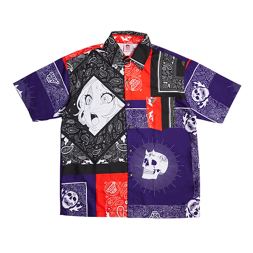 GB BANDANA PRINTED SHIRT MULTI