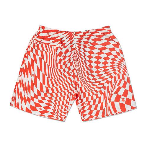 Illusion short in orange